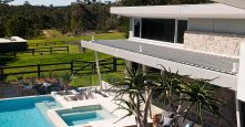 glenhaven gremmo home backyard and pool area