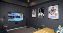 Entertaining Gremmo Homes Display Home Movie Cinema Room