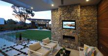 display home edgewater drive bella vista outdoor living backyard