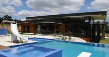 Outdoor Living Pool Area Gremmo Homes