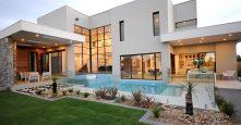 Gremmo Homes Pool Landscaping Backyard Display Home Bella Vista