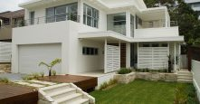 gremmo homes front of home white