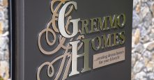 gremmo homes display home sign