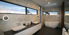 master bathroom ensuite marble tile gremmo homes interior design