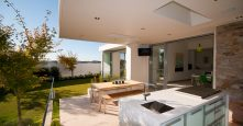 gremmo homes outdoor kitchen and leisure lifestyle area