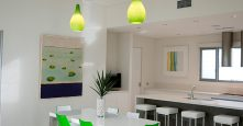 gremmo homes dining room green interior design
